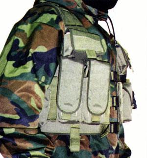 """Тактический жилет  """"Рысь """" M15.  На фото слева пол правой рукой заметен..."""