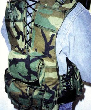 """ГП """"Союзспецоснащениеи разгрузочный жилет снайпера из комплекта """"Кикимора."""