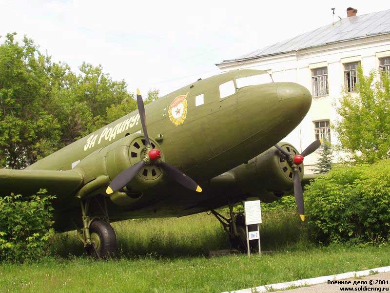 Самолет ли 2 в музее музей вта иваново